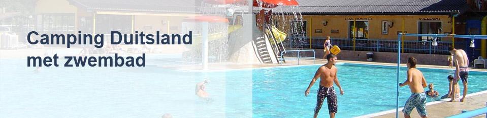Camping Duitsland met zwembad
